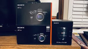 A7rIV and Sony Gmaster 24mm for Sale in Oklahoma City, OK