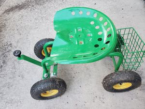Garden tractor ( you on it n roll to care ❤ for your flowers or vegetable garden. THIS IS PUT TOGETHER FOR YOU. for Sale in Waterford Township, MI