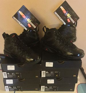 "Jordan Retro 9 ""Bred"" GS Sizes 4 & 6 Brand New 100% Authentic for Sale in Bronx, NY"