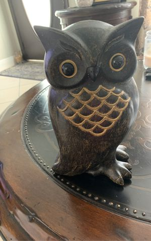 Owl decoration for Sale in Lake Worth, FL