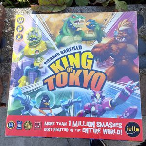 KING OF TOKYO BOARD GAME for Sale in Oakland, CA