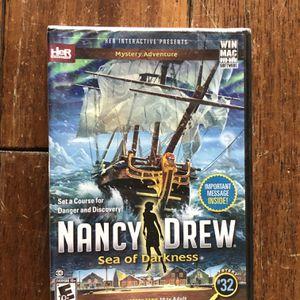 Nancy Drew Sea Of Darkness Computer Game for Sale in Gilbert, AZ