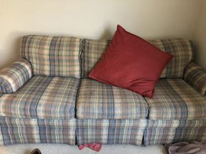 Couch and stand/office for Sale in Bedford, VA