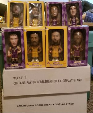 2004-2005 Lakers Bobbleheads for Sale in Buena Park, CA