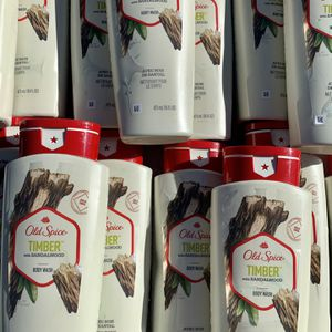OLD SPICE TIMBER BODY WASH (16 FL OZ) [$3 EACH] for Sale in Loma Linda, CA