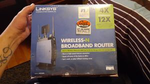 Linksys wireless broadband router for Sale in Glen Burnie, MD