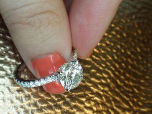 2 carat certified diamond ring for Sale in Atlanta, GA