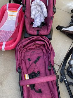 Baby Strollers, Changing Table, Car Seats W Base & Plastic Dresser for Sale in Oxnard,  CA
