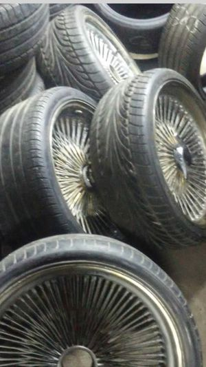 21inch spokes needs adpaters for Sale in Cleveland, OH