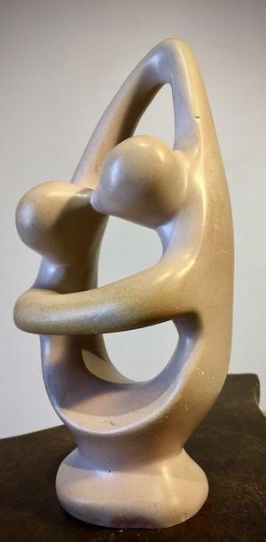 Modern decorative art sculpture Kiss H8xW4xD3 inch for Sale in Chandler, AZ