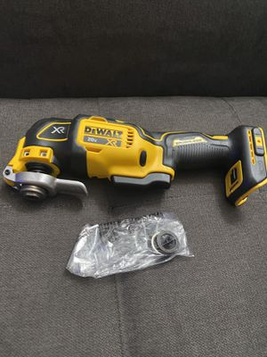 DEWALT 20v MAX XR (DCS356) 3-Speed Cordless Brushless Oscillating Tool (Tool Only) New for Sale in San Diego, CA