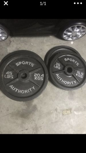 Sports authority weights for Sale in Rosharon, TX
