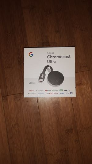 Chromecast Ultra for Sale in Morristown, NJ