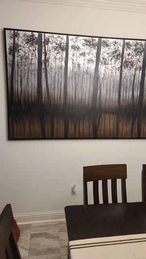 Large canvas art 71 1/2 across 48in vertically for Sale in Gonzales, LA