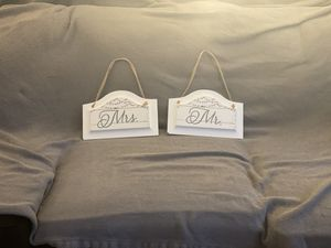Mr. & Mrs. Wall Hangings/Art/Home Decor for Sale in Springfield, VA