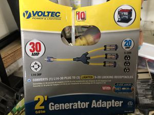 Voltec generator adapter for Sale in Coral Springs, FL