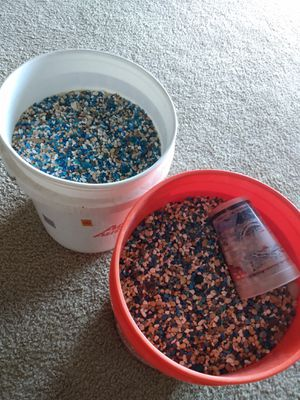 Fish aquarium rocks & two 5 gallon buckets for Sale in Silver Spring, MD
