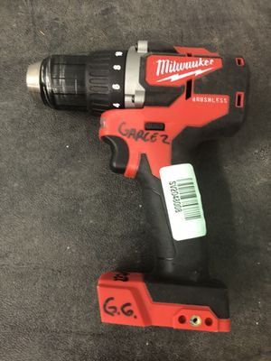 """Manufacturer refurbished Milwaukee M18 brushless 1/2"""" hammer drill for Sale in Odessa, TX"""