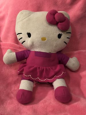 """Free Hello Kitty jumbo plush doll - I give away toys and things on my page periodically ! 😍🥳🥳🥳🥳💕💕large 14"""" tall! Free for Sale in Phoenix, AZ"""
