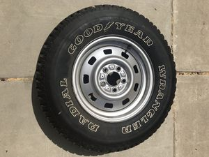 Original 1992 Jeep Cherokee spare tire for Sale in Carlsbad, CA