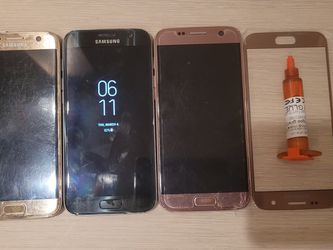 Samsung Galaxy s7 Gold or Black phone for Sale in San Diego,  CA
