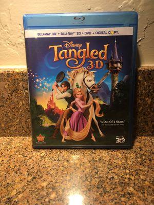 Disney's Tangled 3D Blu-ray & 2D Blu-ray for Sale in Las Vegas, NV