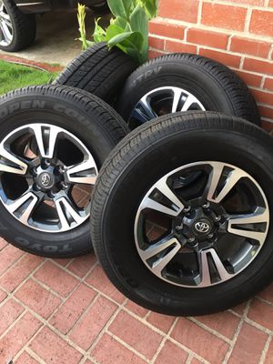Toyota Tacoma TRD sport rims and tires for Sale in Mission Viejo, CA