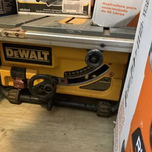 "Dewalt 10"" Table Saw No blade ,no Fence,no Guard Used But Works Perfectly Tested Ready To Go for Sale in Plant City, FL"