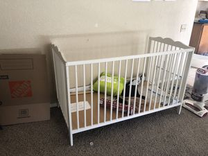 Ikea Baby Changing Table, Crib, and Closet for Sale in Chandler, AZ