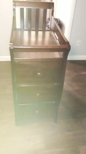 Solid Wood Changing Table for Sale in Dallas, TX