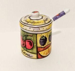 Sugar/Salt Jar with Spoon for Sale in Raleigh, NC