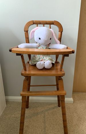 Antique Doll High Chair for Sale in Woodinville, WA