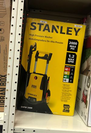 Stanley pressure washer for Sale in Inkster, MI