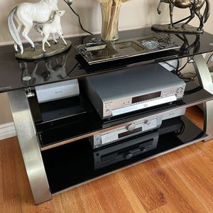 Under Tv Stand Glass for Sale in Los Angeles, CA