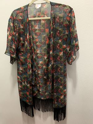 Sheer open kimono with fringe by Lularoe for Sale in Waianae, HI