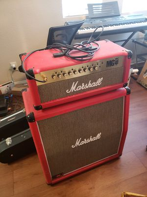 Marshall MG100FX half stack for Sale in Henderson, NV
