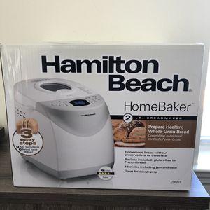 Hamilton Beach 2 lb Digital Bread Maker Model #29881 - New! for Sale in Teaneck, NJ