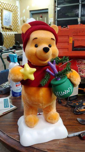 Vintage Winnie The Pooh Animated Display Figure for Sale in Meriden, CT