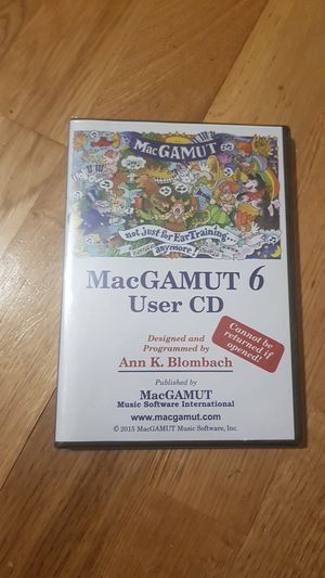 MacGAMUT 6 CD for Sale in Midwest City, OK