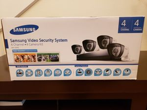 Samsung Video Security system for Sale in Kent, WA