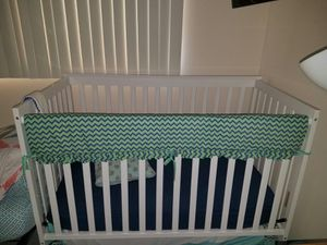 Baby Crib and mattress and car seat, Cuna de bebe matre car saet for Sale in Tampa, FL