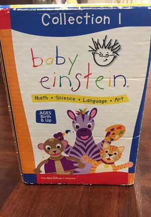 Baby Einstein Collection 1 (9 DVD set) for Sale in Queens, NY
