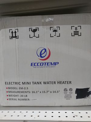 Brand new electric tank water heater for Sale in Concord, NC