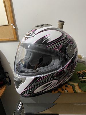 Women's motorcycle jacket and helmet for Sale in Gaithersburg, MD