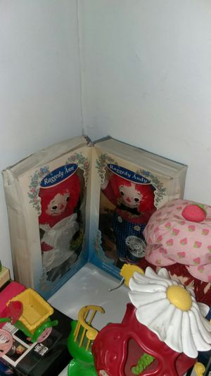 Raggedy Ann and Andy limited edition dolls for Sale in Lakewood, OH