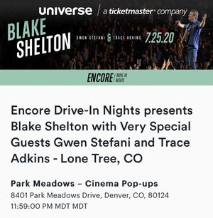Tonight's show! Encore Drive-in Nights. for Sale in Parker, CO