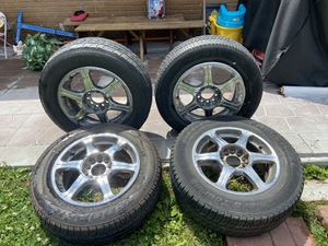 Rims with tires for Sale in Des Moines, IA