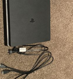 Ps4 With 2 Controllers And 10 Games Already On The System for Sale in Middle River,  MD