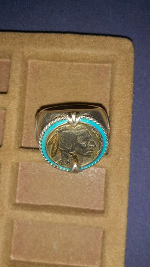 Indian head nickel men's ring for Sale in North Little Rock, AR