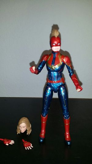 Marvel legends captain marvel Mcu for Sale in Hawaiian Gardens, CA